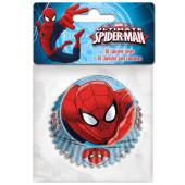 60 Cápsulas Cupcakes Spiderman