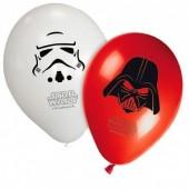 8 Balões festa Star Wars sortido