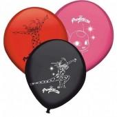 8 Balões Ladybug