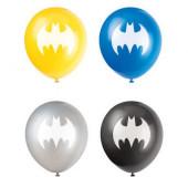 8 Balões Latex Batman New