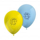 8 Balões Latex Porquinha Peppa
