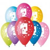 8 Balões Premium Látex Nº 1 - 30cm