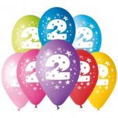 8 Balões Premium Látex Nº 2 - 30cm