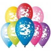 8 Balões Premium Látex Nº 3 - 30cm