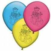 8 Balões Princesas Disney