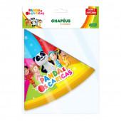 8 Chapéus Festa Panda e os Caricas