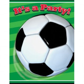 8 Convites  Aniversário festa Futebol