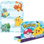 8 Convites Festa Pokémon