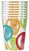8 Copos Festa Balloon Party