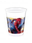 8 Copos Festa Spider-Man Home Coming