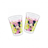 8 Copos Minnie Disney Bow-Tique