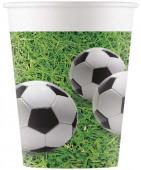 8 Copos Papel Festa Futebol