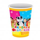 8 Copos Papel Festa Panda e os Caricas