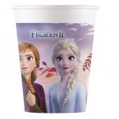 8 Copos Papel Frozen 2 Disney