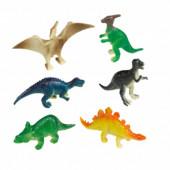 8 Figuras Dinossauros Happy Dinossaur