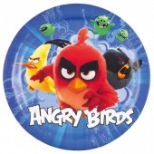 8 Pratos Angry Birds Movie 23cm
