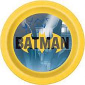 8 Pratos Festa Batman New 17cm