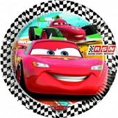 8 Pratos Festa Disney Cars 23 cm