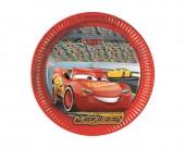 8 Pratos Festa Disney Cars 3 23cm