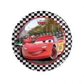 8 Pratos Festa Disney CarS Formula23 cm