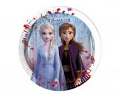 8 Pratos Festa Frozen 2 20cm
