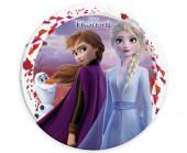 8 Pratos Festa Frozen 2 23cm