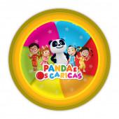 8 Pratos Festa Panda e os Caricas
