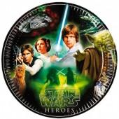 8 Pratos festa Star Wars Classic