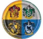 8 Pratos Harry Potter 22cm
