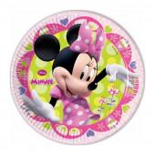 8 Pratos Minnie Disney Bow-Tique 19,5 cm