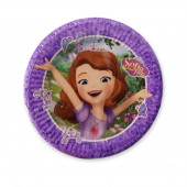 8 Pratos Princesa Sofia Mystic Isles 19cm