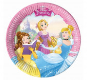 8 Pratos Princesas Disney Dreaming 20cm