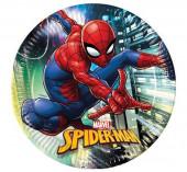 8 Pratos Spiderman Team Up