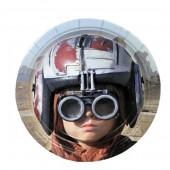 8 Pratos Star Wars 18 cm