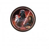 8 Pratos Star Wars classico 23cm