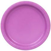 8 Pratos Violeta 22cm