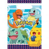 8 Sacos Brinde Festa Pokémon