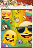 8 Sacos Festa Emoji Rainbow Fun