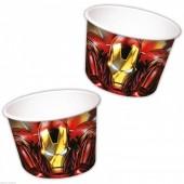 8 Taças sobremesa Avengers