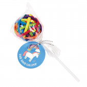 Acessórios de Cabelo Unicórnio Mágico Lollipop