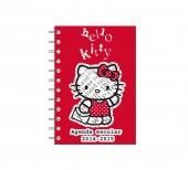 Agenda Escolar 2014 2015 Hello Kitty Red