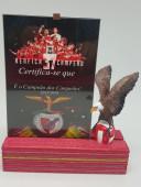 Águia com Diploma Benfica Campeão 37