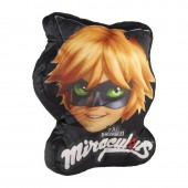 Almofada 3D LadyBug - Cat Noir