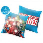 Almofada com Luz Led Avengers 40cm