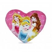 Almofada Coração Princesas Disney