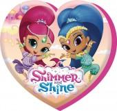 Almofada coração Shimmer e Shine