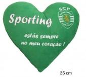 Almofada Coração Sporting