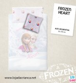 Almofada Decorativa Frozen Heart