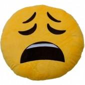 Almofada  Emoji de Desconsolado 32cm