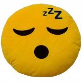 Almofada  Emoji de Dorminhoco 25cm